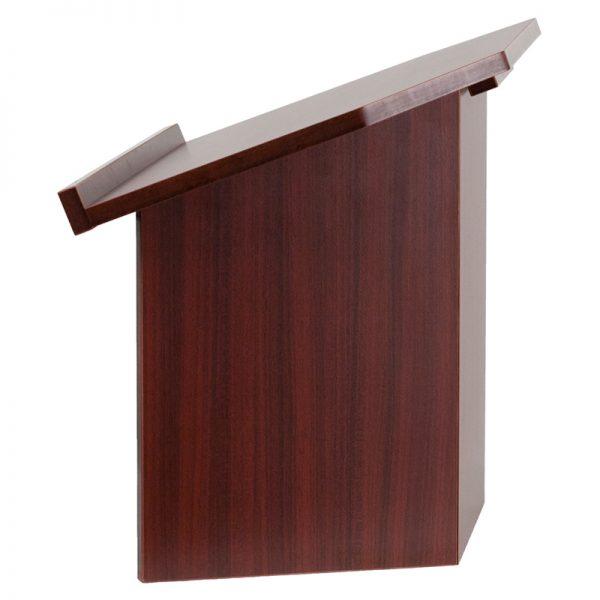 Foldable Mahogany Table Top Lectern