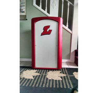 Red Classic With Logo Front