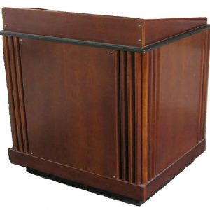 Multimedia Wood Podium Lectern