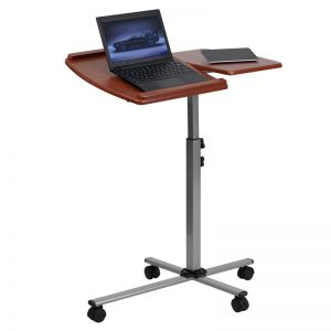 Adjustable Height Computer Table